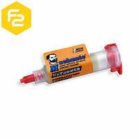 Флюс-гель RMA-UV35 MECHANIC [5мл] безгалогеновый для пайки микросхем