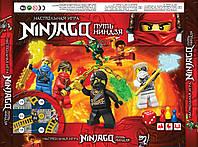 Danko Игра Настольная игра (маленькая) Путь Ниндзя Ninjago УКР (3+) (2-3 игрока)