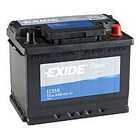 Аккумулятор EXIDE 55 Иксайд 55 Ампер (Лада Приора Калина Нива Гранта) EC550