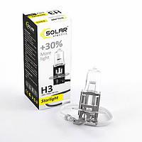 Галогеновая лампа Solar H3 +30% 24v/70w