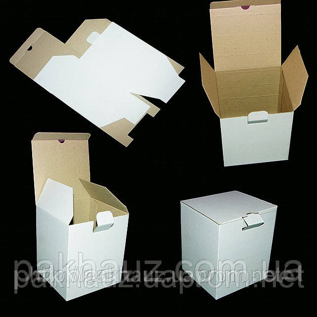 Коробка 141х141х84 из микрогофрокартона
