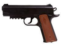 Пневматический пистолет crosman 1911 bb