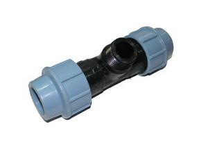 Тройник компрессионный с наружной резьбой 32*5/4 Unidelta