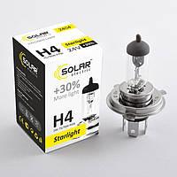Галогеновая лампа Solar H4 +30% 24v  75/70w