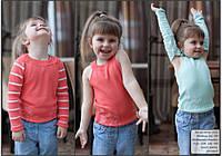 Кофта вязанная для девочки