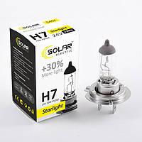 Галогеновая лампа Solar H7 +30% 24v/70w