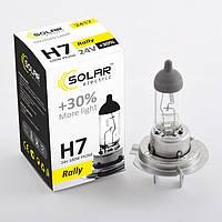 Галогеновая лампа Solar H7 +30% 24v/100w