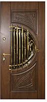 Дверь входная с ковкой №17 модель 319, фото 1
