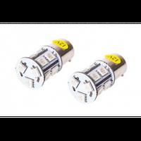 Лампы PULSO габаритные/LED S25/BAU15s/13 SMD-5050/12v/Yellow/поворот/1 конт.