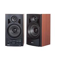 Акустическая система 2.0 Gemix TF-10 Black (2x5 W, 20-20000 Hz, подключение: RCA, выход: 3.5mm, сеть (220 V),
