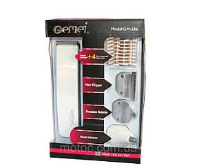 Машинка для стрижки волос 4 в 1 GEMEI GM-586!Акция, фото 2