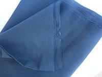 Ткань костюмно-джинсовая темно-синяя средней плотности №18 остатки
