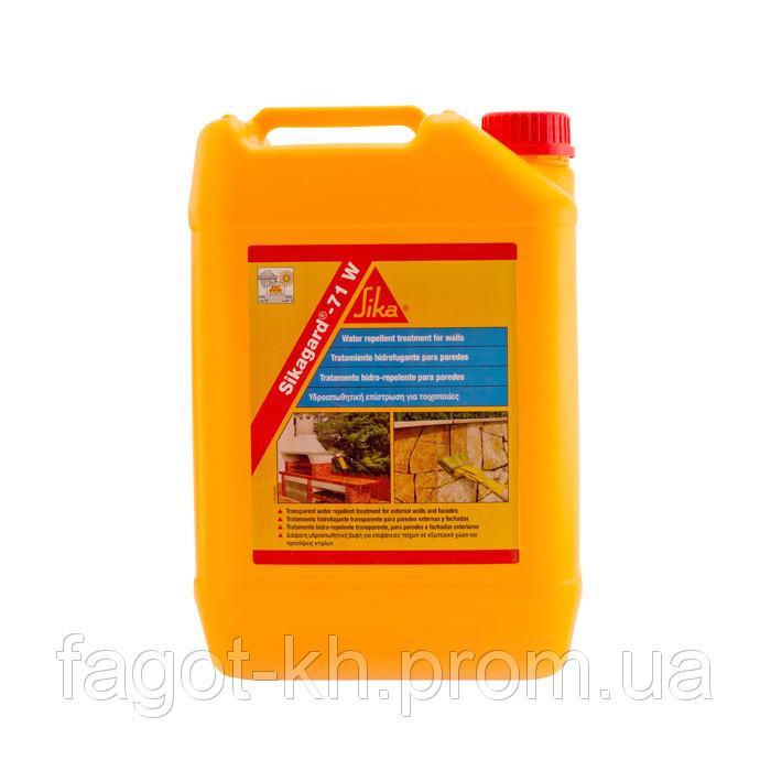 Sikagard® - 71 W - гидрофобизирующая пропитка для фасадов и стен на водной основе