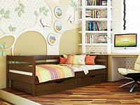 Дерев'яне ліжко дитяче односпальне Нота / Деревянная кровать детская односпальная Нота