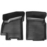 Коврики автомобильные резиновые LANOS/AVEO (передние 2шт)
