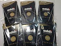 Спицы для кругового вязания на золотой леске  Addi (Германия)