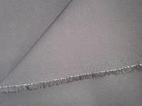 Ткань костюмно-джинсовая черно-синяя стрейч плотный №7 остатки