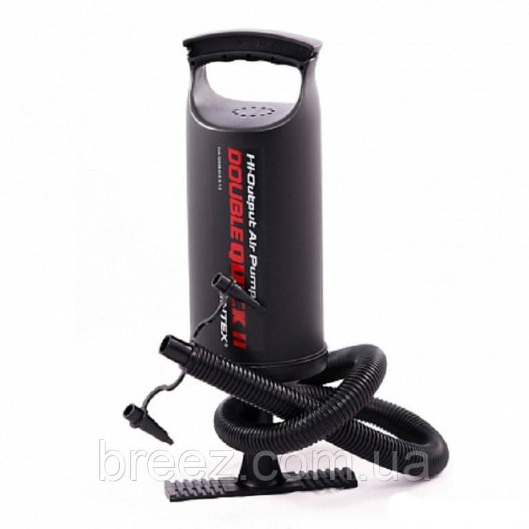 Ручной насос для надувания Intex 68614 размер 36 см, объем 2 л