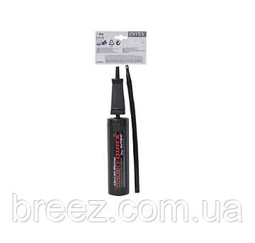Ручной мини насос для надувания Intex 69613 объем 1.5 л, 29 см, фото 2