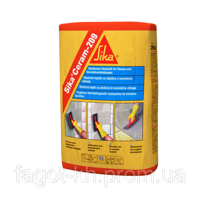 Эластичный клей SikaCeram-209