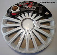 Колпаки R14 4Racing RADICAL PRO WHITE