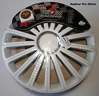 Автомобильные колпаки 4 Racing R14 RADICAL PRO WHITE