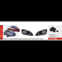 Фары дополнительные модель Toyota Yaris Sedan 2006-08/TY-170D-W/эл.проводка