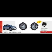 Фары дополнительные модель Toyota RAV-4 2006-08/TY-197-W/эл.проводка