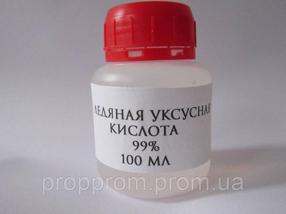Ледяная Уксусная кислота 100мл