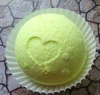 Бомбочка/гейзер для ванны Сфера (Лимон)