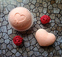 Бомбочка/гейзер для ванны Сердце (Иланг-иланг)