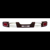 Suzuki Grand Vitara 2005+ защита заднего бампера металл.