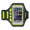 """Спортивный чехол на руку для смартфонов Sea & sky с диагональю до 5.5"""" дюймов зеленый"""