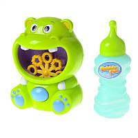 Игрушка для мыльных пузырей Бегемотик IE304