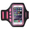 """Спортивный чехол на руку для смартфонов Sea & sky с диагональю до 5"""" дюймов розовый"""