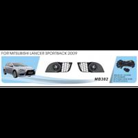 Фары дополнительные модель Mitsubishi Lancer Sportback/Evolution X/2009+, эл.проводка