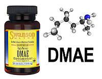 DMAE 250mg - мощный стимулятор, энергетик, антиоксидант и ноотроп (замедляет старение, капсулы)