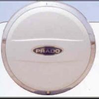 Land Cruiser 120 Prado 2003-2009 чехол для запаски White 265-65R17 GTV-010 (G 0916202)