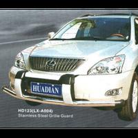Lexus RX300/330/350 2003-2009 защита переднего бампера металл. LX-A004