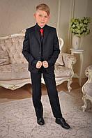 Пиджак школьный из полушерстяной ткани Милана ПО-03302  размер 40 (Р-140, ОГ-80, ОТ-81)