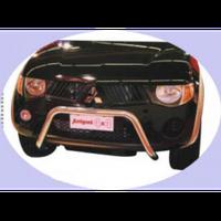 Mitsubishi L200 2006-2015 защита переднего бампера, металл.