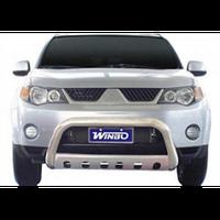Mitsubishi Outlander 2007-2013 защита переднего бампера метал.