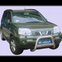 Nissan X-Trail 2001-2007 защита переднего бампера металл. NS-A075 (1)