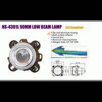Фары дополнительные NS-4301L H7 12V/55W/модуль/линза 90mm ближний свет