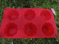 Форма силиконовая Kamille 7730 29*17*3,5 см Кексы