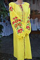 """Вишита сукня """"Сонячні квіти"""", фото 1"""