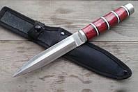 Нож нескладной Ястреб, для рыбалки и туризма с тканевым чехлом в комплекте