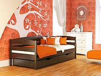 Дерев'яне ліжко дитяче односпальне Нота Плюс / Деревянная кровать детская односпальная Нота Плюс