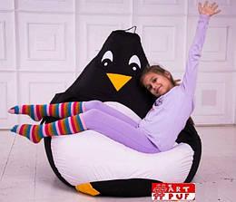 """Кресло груша детская """"Пингвин"""""""