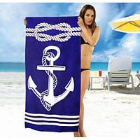 Мужское пляжное полотенце Turkey - №2372, Цвет разноцветный